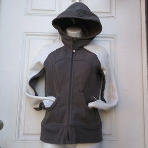 Lululemon Scuba Hoodie Jacket Womens Size 4 Gray G